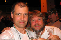 James Spencer and Andy Sparks at GABF