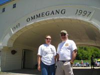 Laurie and David at Ommegang
